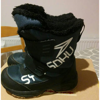 アキレス(Achilles)のシュンソク18cmスノートレー(長靴/レインシューズ)