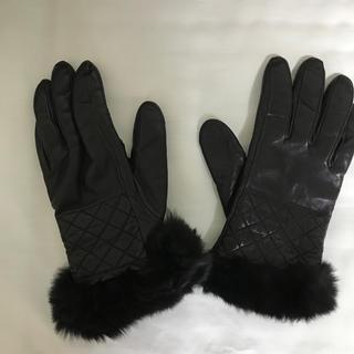 バーニーズニューヨーク(BARNEYS NEW YORK)のバーニーズニューヨーク 手袋 カシミヤ100%(手袋)
