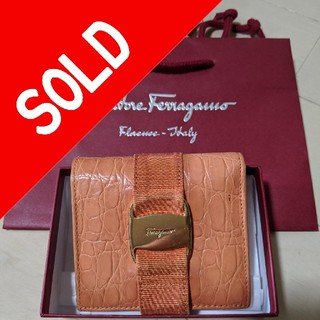 サルヴァトーレフェラガモ(Salvatore Ferragamo)のferragamo折財布Unisex❗(折り財布)
