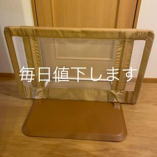 ニホンイクジ(日本育児)の日本育児 ちょっとおくだけとおせんぼS Sサイズ ベージュ ベビーフェンス (ベビーフェンス/ゲート)