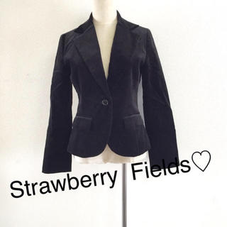 ストロベリーフィールズ(STRAWBERRY-FIELDS)のstrawberry fields☆ブラックJK(スーツ)