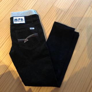 MPS☆エムピーエス コーデュロイ 黒パンツ 140cm 美品