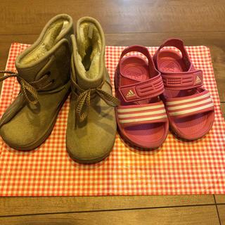 アディダス(adidas)の靴セット(ブーツ)