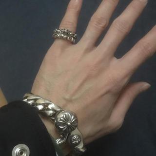 クロムハーツ(Chrome Hearts)のクロムハーツ SBTバンド スクロールバンド リング セット(リング(指輪))