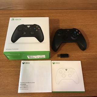 エックスボックス(Xbox)のXbox One ワイヤレス コントローラー と ワイヤレス アダプター(PC周辺機器)