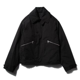 コモリ(COMOLI)の【18AW/希少品】comoli コンバットフライトジャケット ブラック (フライトジャケット)