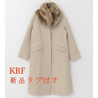 ケービーエフ(KBF)のKBF ファーティペットコート(毛皮/ファーコート)