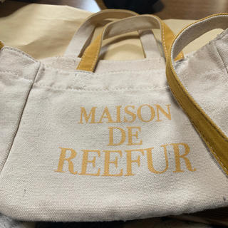 メゾンドリーファー(Maison de Reefur)のMAISON DE REEFURかばん(エコバッグ)