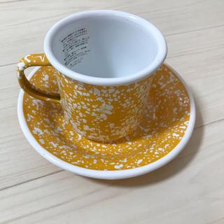 ニコアンド(niko and...)のCITY CREEK♡カラーホウロウマグカップ・小皿(食器)
