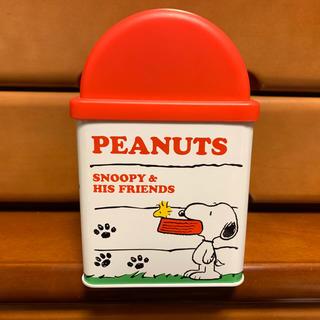 スヌーピー(SNOOPY)のSNOOPY 缶ゴミ箱(ごみ箱)