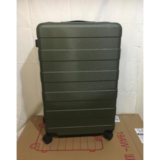 ムジルシリョウヒン(MUJI (無印良品))の無印良品 ハードキャリーケース 88L ダークグリーン(スーツケース/キャリーバッグ)