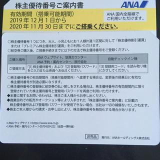 エーエヌエー(ゼンニッポンクウユ)(ANA(全日本空輸))のANA 株主優待 1枚(その他)