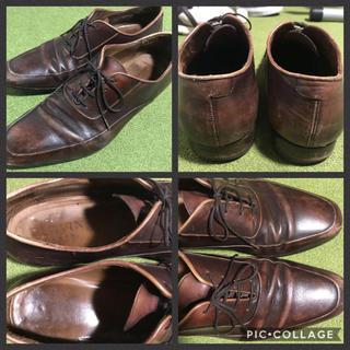 ランバン(LANVIN)のLANVIN PARIS ランバン Uチップ シューズ 革靴 28cm(ドレス/ビジネス)