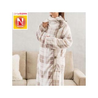 ニトリ(ニトリ)の【新品未使用】ニトリ 着る毛布 Nウォーム(ルームウェア)