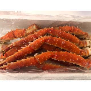 北海道産 タラバ蟹足1.5kg 送料無料(魚介)