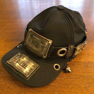 DIESEL - DIESEL REBOOT-BLACK-BIKER-CAP