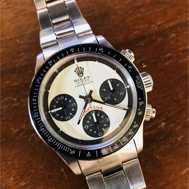 カルティエ 腕時計 メンズ タンク | ROLEX - デイトナ6263・白ポール7750自動巻・クロノグラフ全稼働の通販 by tcoco's shop