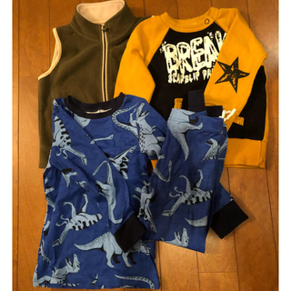 エイチアンドエム(H&M)の90cm 男の子 冬服とパジャマ まとめ売り(その他)