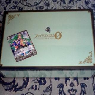 ニンテンドウ(任天堂)のC97 コミケ ファイアーエムブレム サイファ ファンボックス 緑 カード付き(カードサプライ/アクセサリ)