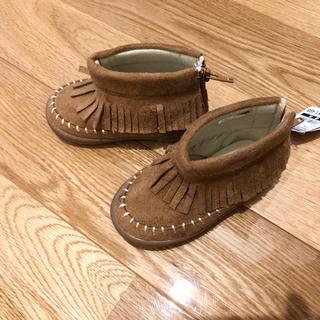 ニシマツヤ(西松屋)の西松屋 フリンジブーツ(ブーツ)