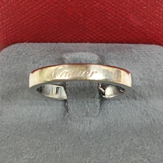 カルティエ(Cartier)のCartier カルティエ K18 ホワイトゴールド リング 指輪 送料込み(リング(指輪))