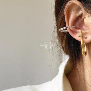 フリークスストア(FREAK'S STORE)のBicolor hoop earcuff No.243(イヤーカフ)
