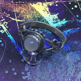 シルバー925  ムーンストーン moonstone 天然石 銀指輪(リング(指輪))