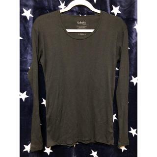 ショット(schott)のSCHOTT ロンT Tシャツ 長袖◆お気軽にコメント下さい◆(Tシャツ/カットソー(七分/長袖))