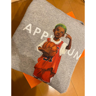 アップルバム(APPLEBUM)のapplebum WORM BOY Sweat Parka Lサイズ(パーカー)