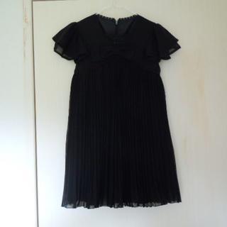 女子フォーマルドレス(ワンピース) 120 黒(ドレス/フォーマル)