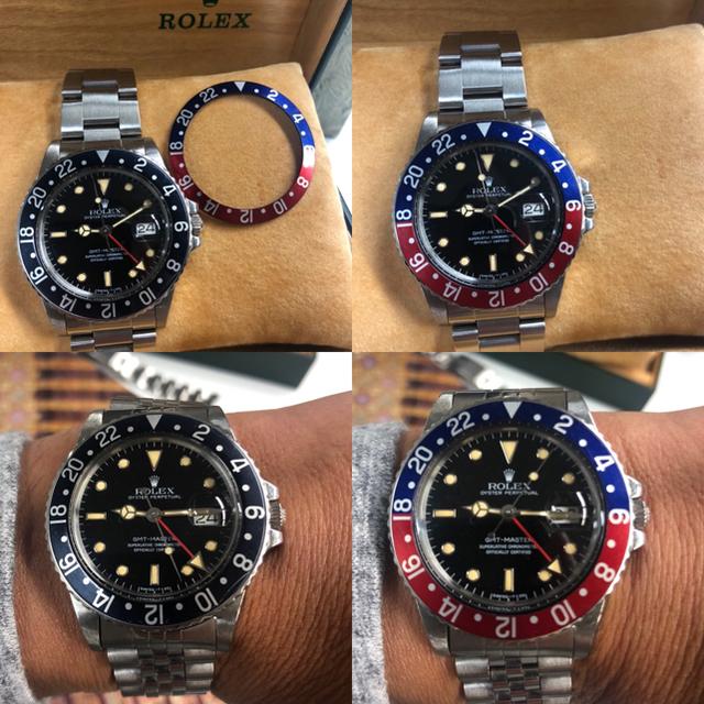 ブランド 品 激安 - ROLEX - ROLEX GMTマスター16750フチ有り 84年製 パティナダイヤルの通販 by UNITED's shop