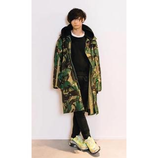 ヨウジヤマモト(Yohji Yamamoto)のcmmn swdn カモフラージュ ミリタリー コート(ミリタリージャケット)