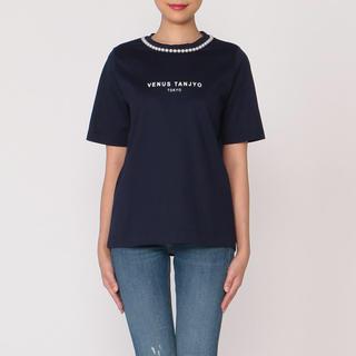 ミュベールワーク(MUVEIL WORK)の2018SSミュベール ビーナスロゴTシャツ⭐️新品未使用品(Tシャツ(半袖/袖なし))