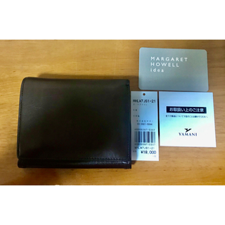 マーガレットハウエル(MARGARET HOWELL)のマーガレットハウエル 二つ折り 財布(財布)