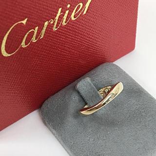 カルティエ(Cartier)の正規品 カルティエ ラブミー K18 ホワイトゴールド リング 指輪(リング(指輪))