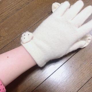 クロエ(Chloe)のChloe手袋 リボン付き(手袋)