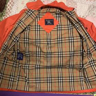バーバリー(BURBERRY)のBurberrys バーバリーズ コート オレンジ ビンテージ(トレンチコート)