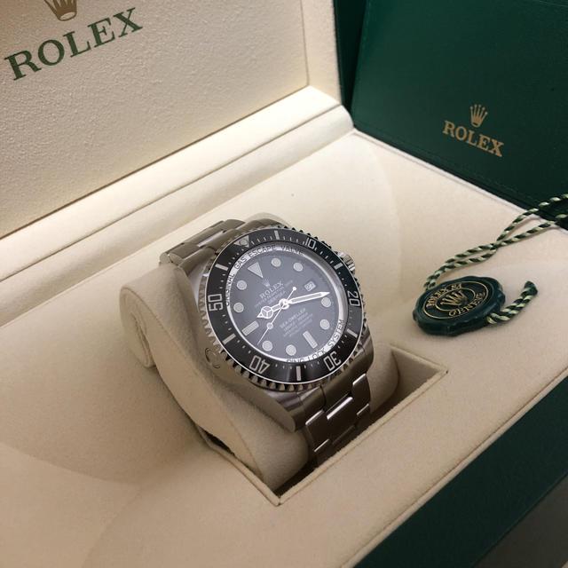 カルティエ 時計 横長 / ROLEX - ロックス 126660 黒ディープシーの通販 by ネル's shop