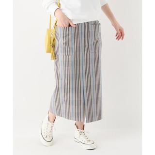 イエナスローブ(IENA SLOBE)のSLOBE IENA スローブイエナ☆マルチカラーチェックタイトスカート☆36(ロングスカート)
