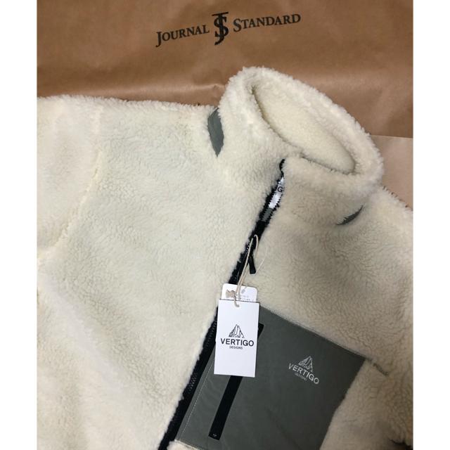 JOURNAL STANDARD(ジャーナルスタンダード)のボアブルゾン メンズのジャケット/アウター(ブルゾン)の商品写真