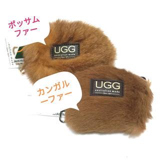 アグ(UGG)の【オリジナル】アグ  UGG ファー ポーチ コインケース 本革 キャメル(コインケース)
