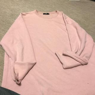 ハレ(HARE)のHARE ピンク カットソー(Tシャツ/カットソー(七分/長袖))
