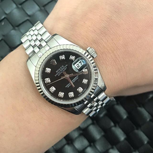 コメ 兵 パネライ - ROLEX - ロレックス正規美品ダイヤモンド10P腕時計の通販 by Natstu's shop