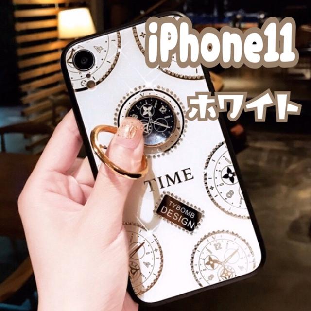 大人気 iPhoneケース カバー スマホリング 韓国 時計の通販