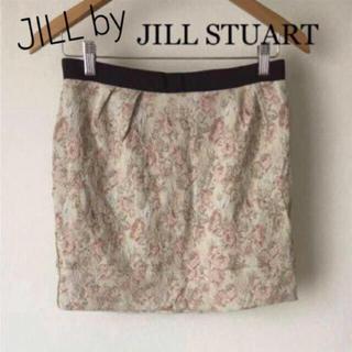 ジルバイジルスチュアート(JILL by JILLSTUART)のJILL by JILLSTUART タイトスカート ミニスカート 花柄 (ミニスカート)