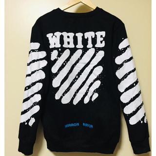 オフホワイト(OFF-WHITE)のOFF-WHITE スウェット 両方 XLサイズ(スウェット)