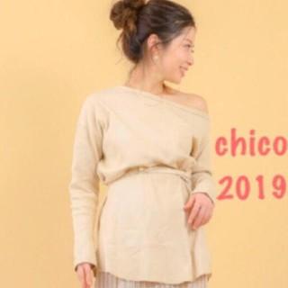 who's who Chico - サーマルワンショルチュニック❤︎