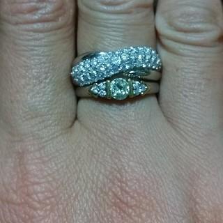 ダイヤモンドリング2点(リング(指輪))