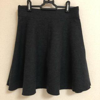 バナーバレット(Banner Barrett)の【バナーバレット】ウール100%  フレアスカート(ミニスカート)