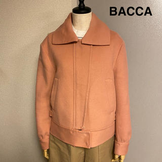エディション(Edition)のEdition エディション BACCA バッカ ピンク ライダース ジャケット(ライダースジャケット)